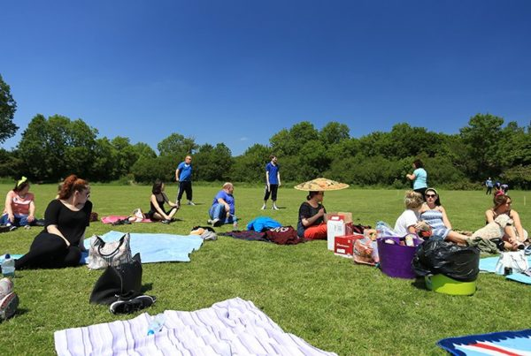Sports Day – Relaxing