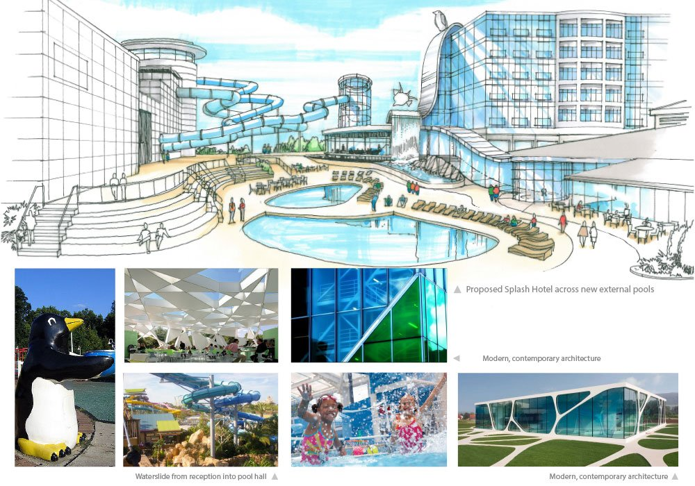 Splash hotel proposal for Butlin's