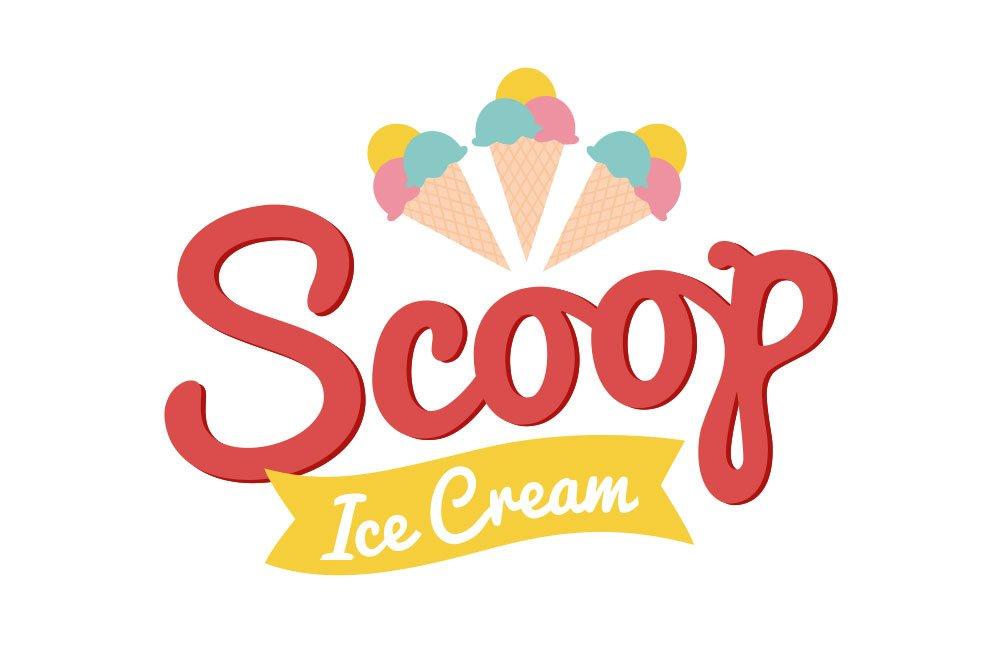 Scoop Ice Cream logo