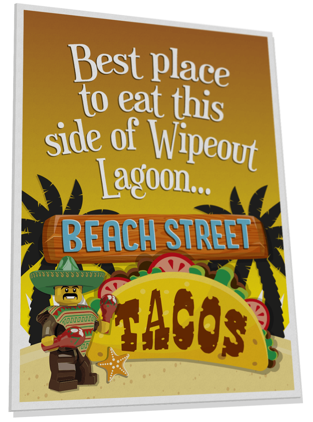 Beach Street Tacos poster for Surfers' Cove